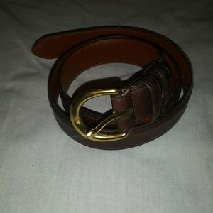 NWOT Coach Brown Belt size small